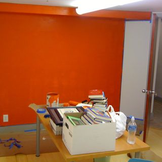 office orange. If I Painted All Four Walls Vibrant Orange, Would Go Insane Within A Day. Office Orange 2